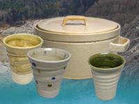 陶芸 食器 陶器 白山 粘土 焼き物